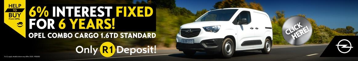 Help to Buy from Opel - 6% interest fixed for 6 years